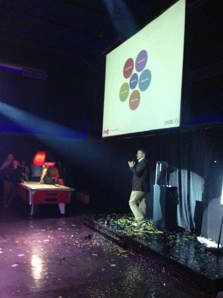 Desarrollo de evento en UADE